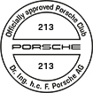 Officially approved Porsche Club 213